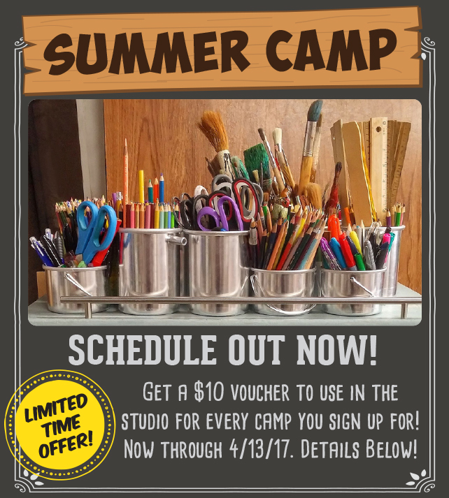 Summer Camp Schedule Out Now!