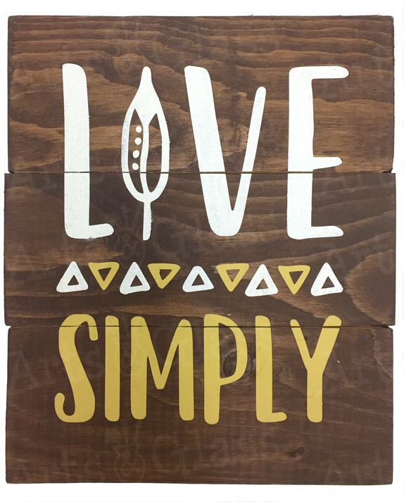 Live Simply (Small)