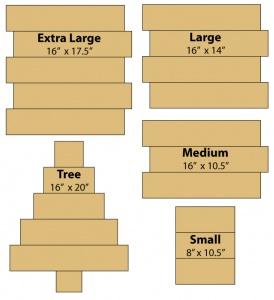 Board Art Size Guide